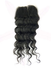 Closure peruvian hair natural curls
