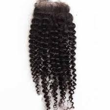 Closure Malaisien Water Curls
