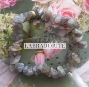 Labradorite Crystal Healing Chip Bracelets