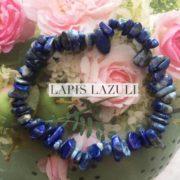 Lapis Lazuli Crystal Healing Chip Bracelets