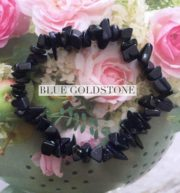 Blue Goldstone Crystal Healing Chip Bracelets