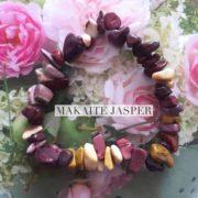 Makaite Jasper Crystal Healing Chip Bracelets