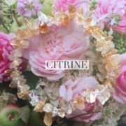 Citrine Crystal Healing Chip Bracelets