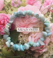 Amazonite Crystal Healing Chip Bracelets