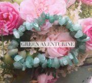 Green Aventurine Crystal Healing Chip Bracelets