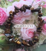 Tigers Eye Crystal Healing Chip Bracelets