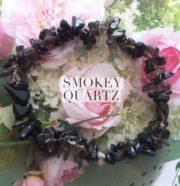 Smokey Quartz Crystal Healing Chip Bracelets