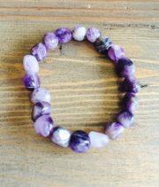 Chunky Crystal Bracelets - Amethyst