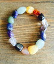 Chunky Crystal Bracelets - Chakra Balancing