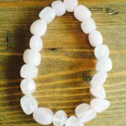 Chunky Crystal Bracelets - Rose Quartz