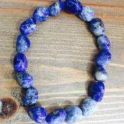 Chunky Crystal Bracelets - Sodalite