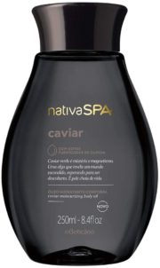 oBoticario nativaSPA caviar body oil 250ml