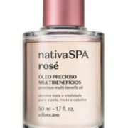 oBoticario nativaSPA rosé precious multi benefit oil 50ml